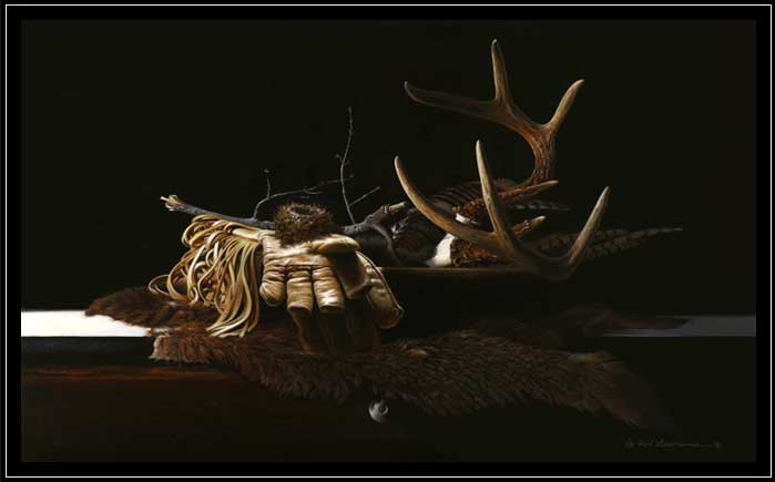 Wildlife themed still life