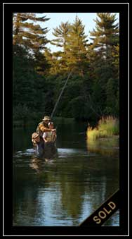 A Guiding Hand - father son fishing